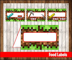 best 25 minecraft food labels ideas on pinterest mind craft