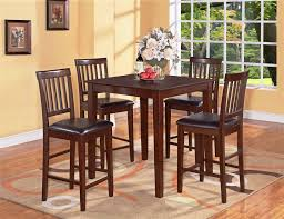 small tall kitchen table brown wooden tall kitchen table sets small square kitchen table high