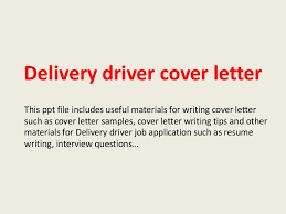 Pizza Delivery Driver Job Description For Resume by Deliverydrivercoverletter 140223002443 Phpapp01 Thumbnail 4 Jpg Cb U003d1393115104