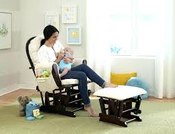 Black Rocking Chair For Nursery White Baby Glider Nursery Glider Recliner Chair White Nursery