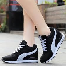 Jual Wedges kelebihan beli fashion sneakers wedges shoes inner