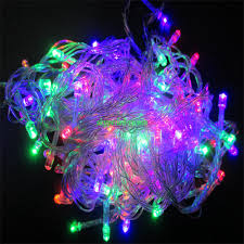waterproof copper string light led outdoor christmas also purple