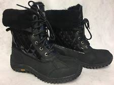 ugg womens quilted boots ugg australia patent leather winter boots for ebay