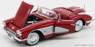 max corvette motor max 73109r scale 1 18 chevrolet corvette spider 1958