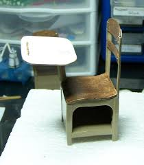 Small School Desk by Stuff I Do Instead Of Cleaning Miniature School Desk Tutorial 1