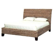 folding metal bed frame image of wicker sleigh bed design