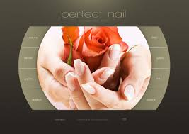 website template 30874 perfect nail nails custom website template