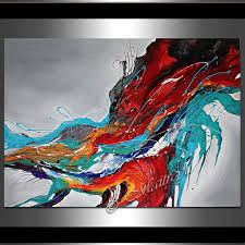 large abstract painting wall art contemporary art abstract oil painting on canvas wall hanging