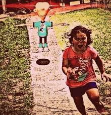 Girl Running Meme - little girl running meme tumblr