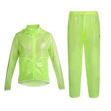 best raincoat for bikers amazon com west biking unisex cycling raincoat jacket pants