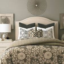 Upholstered Headboard Bed Frame Arched Headboard Custom Upholstery Bassett Furniture