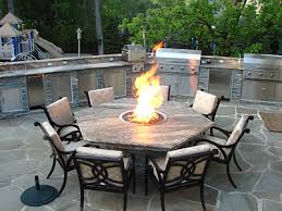 Table Firepit Pit Table Outdoor Kitchen Our And Projects