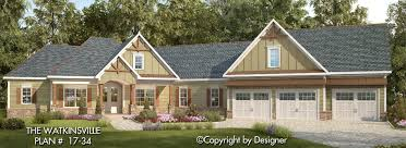 House Plans Craftsman Watkinsville House Plan House Plans By Garrell Associates Inc