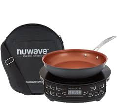 Compact Induction Cooktop Nuwave Precision Induction Cooktop Flex W 9
