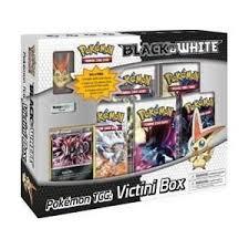 black friday pokemon cards pokemon card game black white special edition victini box 5