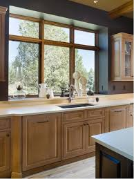 Counter Kitchen Design Window Sill Flush With Counter Kitchen Ideas U0026 Photos Houzz