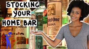 Home Bar by How To Stock Your Home Bar Tipsy Bartender Youtube