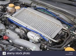 subaru impreza wrx 2017 engine subaru impreza wrx sti japanese sports car engine bay stock photo