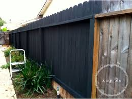 best 25 black fence paint ideas on pinterest black garden fence