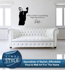 wall decals stickers home decor home furniture diy steve mcqueen decor decal wall art graphic various colours