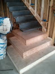 cantilevered stair in modern home u2014 evstudio architect engineer