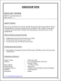 simple curriculum vitae word format sle resume word format download sle resume microsoft word