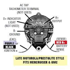 8 arco alternator wiring diagram image gallery mercruiser