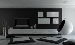 furniture fabulous black interior with minimalist living room