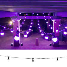 outdoor party lighting chauvet festoon outdoor party light led string pssl
