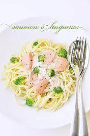 la cuisine de nathalie linguines au saumon et brocolis recette facile la cuisine de