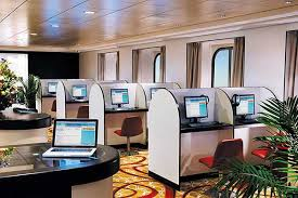 design cyber cafe furniture cybercafe sea onboard software