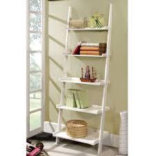 best 25 white ladder bookshelf ideas on pinterest leaning bookcase