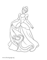 cinderella princess cinderella coloring