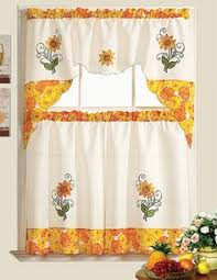 Sunflower Valance Curtains Pastoral Sunflower Sheer Tulle Curtains For Living Room Bedroom