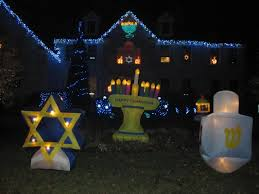 Jewish New Year Decorations by Holiday Decor Outdoor Hanukkah Decorations The Star Of David