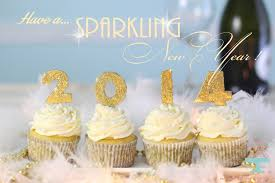 New Years Cupcake Decorations by Champagne Cupcakes