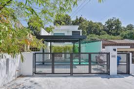 car porch modern design terrace house design example in malaysia house interior