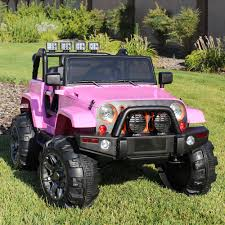 jeep power wheels for girls ride on car 12v kids power wheels jeep truck remote control rc