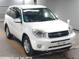 toyota rav4 2004 2004 toyota rav4 ref no 28748 japanese used cars exporter