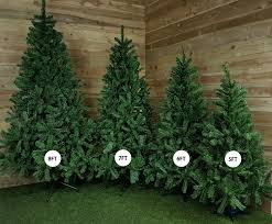 slim green colorado spruce artificial christmas tree 2 1m 7ft