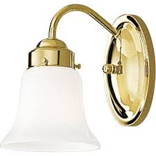 progress lighting opal glass collection 1 light polished brass