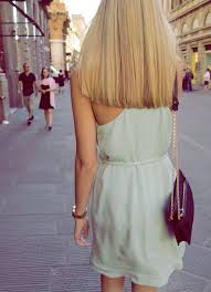 medium length hairstyles no layers blunt hair would look uber cute on you but make it shoulder length