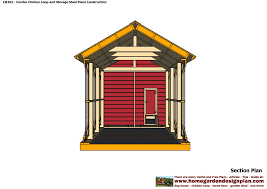 cb202 combo plans chicken coop plans construction garden sheds