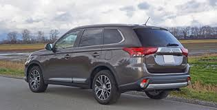 mitsubishi outlander 2016 white 2016 mitsubishi outlander gt s awc road test review carcostcanada