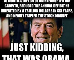 Economic Memes - the obama reagan economic comparison the meme policeman