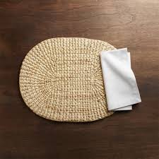Stay Put Table Covers Placemats U0026 Napkins Vinyl Cloth U0026 Woven Crate And Barrel