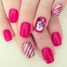 christmas party nail polish nail art designs