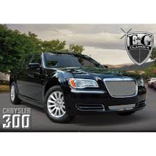 old chrysler grill e u0026g classics 2011 2014 chrysler 300 grille fine mesh grille with