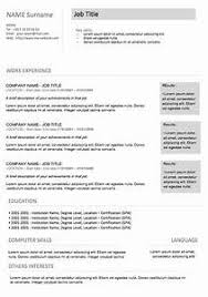 modern resume sles images gallery of resume objective exles 5 resume cv resume styles