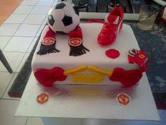 coolest manchester united football birthday cake football